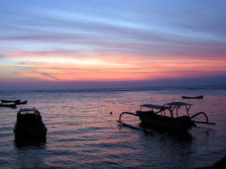 Sunset in Indonesia
